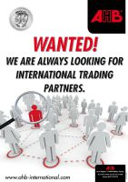 We are always looking for international trading partners