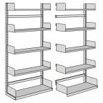 Basic Units for free-arm shelf, one-side