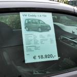 Plakattasche zum Einhängen DIN A4, 1 mm