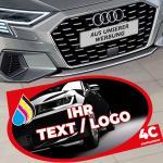 Fußbodenaufkleber mit Ihrer Werbung