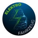 "Sticker ""Elektro"" blau/grün"