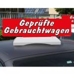 """Car Topper """"Geprüfte Gebrauchtwagen"""""""