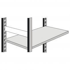 Side Bar for office shelf, 400 mm 400 mm