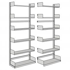 Extension Unit for free-arm shelf, one-side  | 1000 mm