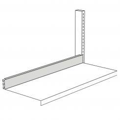 Closing Strip for free-arm shelf, 750 mm wide