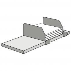 Adjustable Compartment Divider for complete shelfs