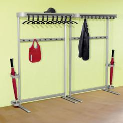 High-capacity Coat Rack
