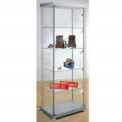 Showcase, rectangular shape Rectangular showcase