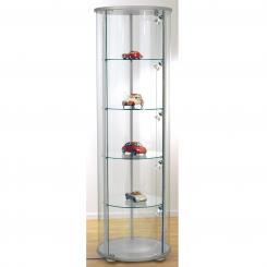 Showcase, round shape round display case