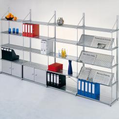 Fachboden-Unterzug für Büroregal 500 mm 500 mm