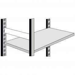 Seitensteg, 400 mm für Komplett-Regale 400 mm