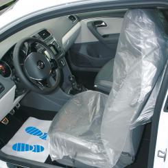 Einweg-Sitzpolsterschoner 13 µ, 500 Stück