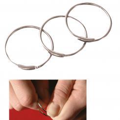 Schlüsselringe Ø 27 mm, 100 Stück