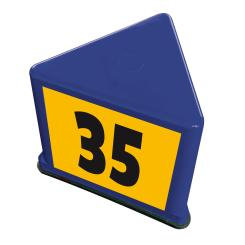 "Guide number carrier ""Kompakt"", blue blue"