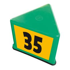"Guide number carrier ""Kompakt"", green green"