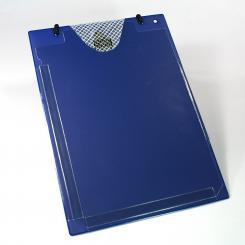 Werkstattauftragstasche XXL, blau blau