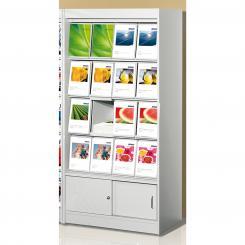 Brochure Cabinet 16 x A4 with sliding door cabinet 16 x A4 with sliding door cabinet