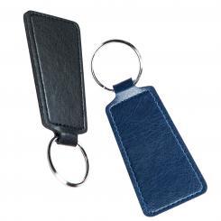 Schlüsselanhänger aus Kunststoff, trapezförmig