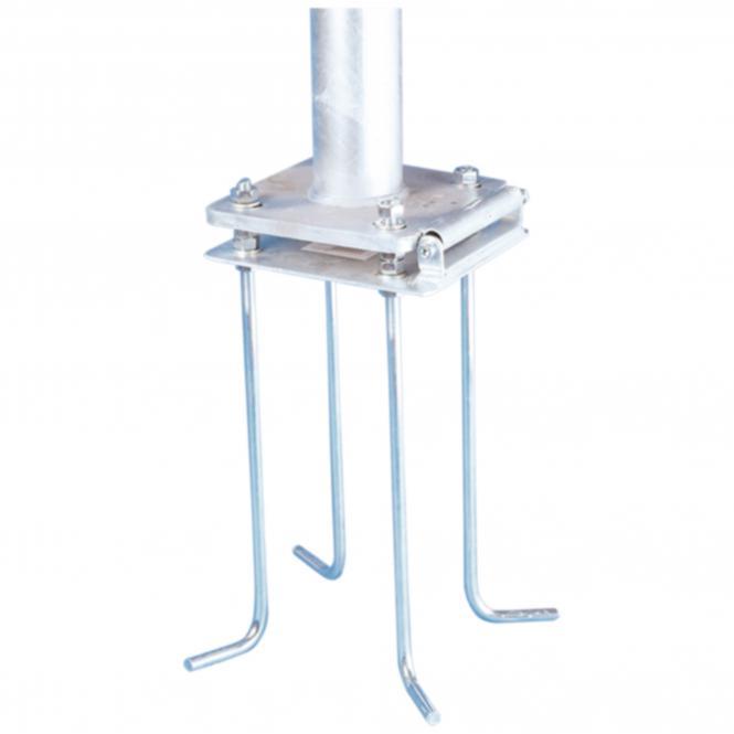 Kippvorrichtung für 9-12m Maste,  Ø 100 mm
