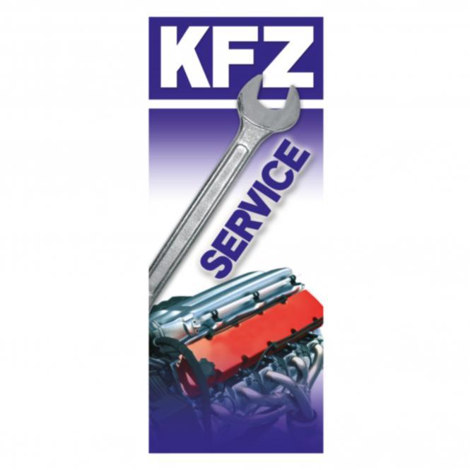 "Fahne ""KFZ-Service"""