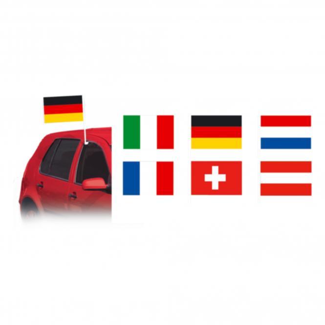 car flag Switzerland | Switzerland