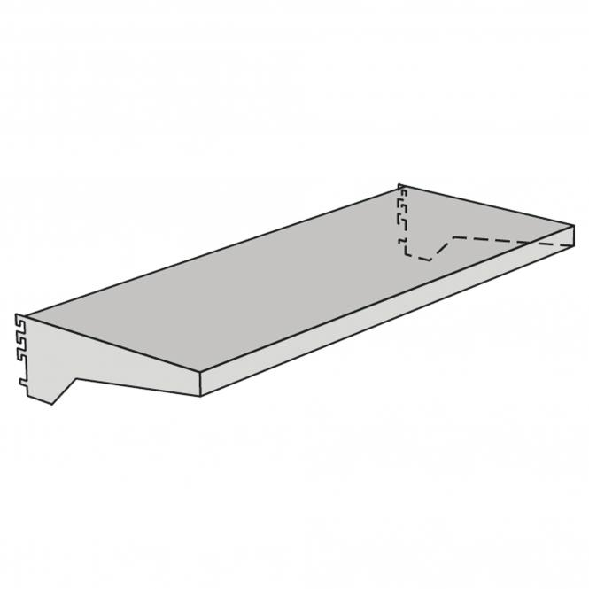 Shelfs with panels for free-arm shelf | 1000 mm | 400 mm