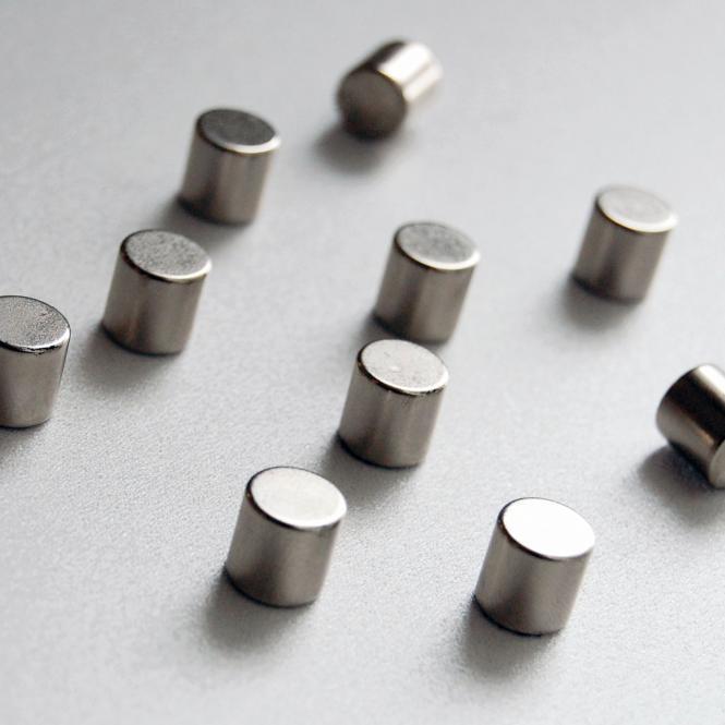 Kraftmagnete, 10 Stück