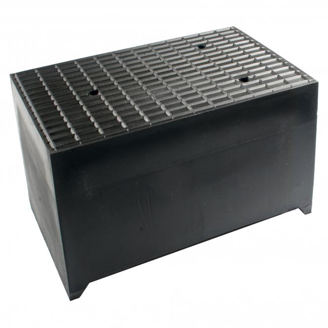 Rubber Block for lifting platforms