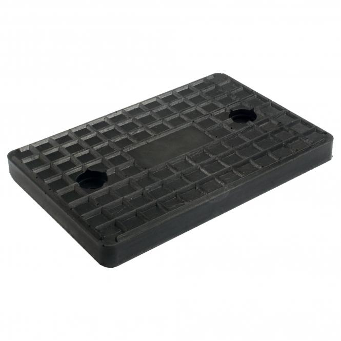 Rubber Plate for lifting platforms, universal