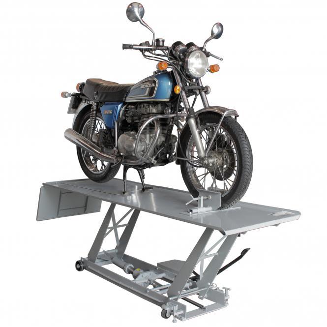 Motorradhebebühne, Tragkraft 400 kg