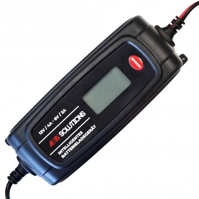 Batterieladegerät 6V - 2A / 12V - 4A, 11-stufig