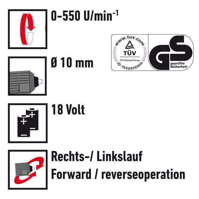 Elektronik-Akku-Bohrschrauber-Set