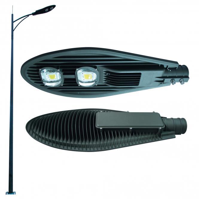 Street Lamp 2 x 50W COB, warm light