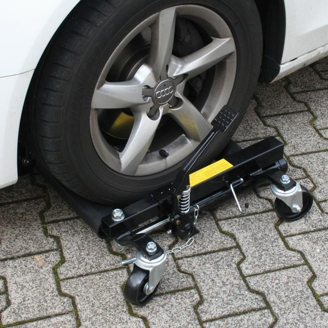 Hydraulic Car Trolley, 4-pcs., 4 piece