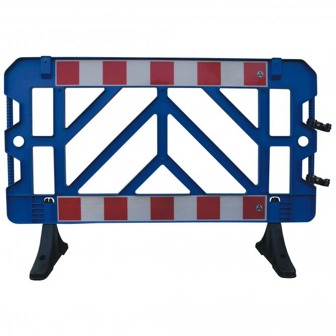 Safety Barrier white, 2 piece | blue