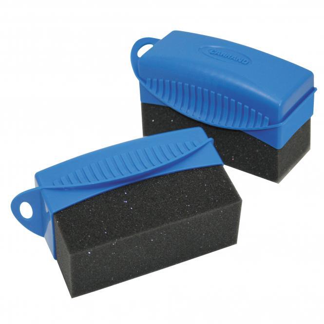 Tire Shine and Plastic Care Applicator, 2 piece