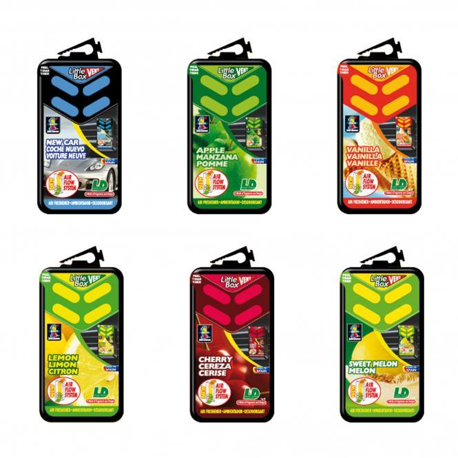 "Air Freshener ""Little Box Vent"" | Cherry"