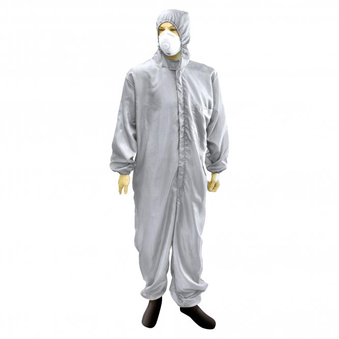 Overall, Polyester, Color gray