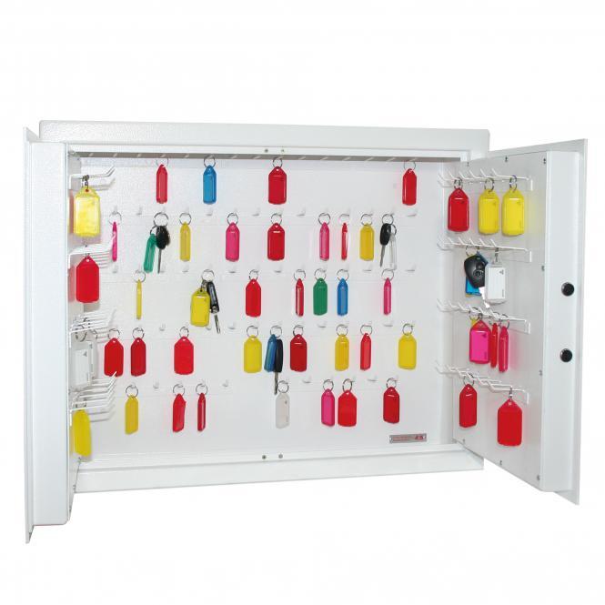 Key Cabinet for modern car keys, 120 hooks