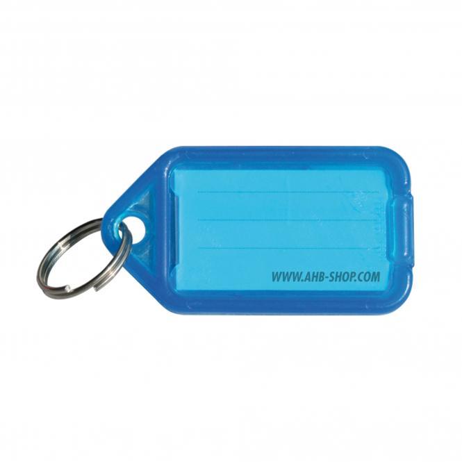 Klick-Schlüsselanhänger | klein | blau