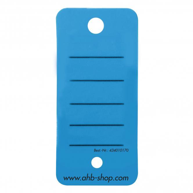 Key Tags PP, 250 piece | blue