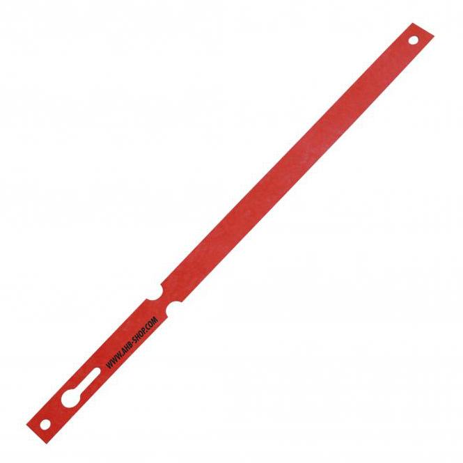 Anhänge-Einwegschlaufen, 1000 Stück | rot