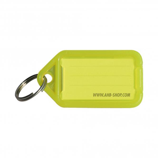 Klick-Schlüsselanhänger | klein | gelb