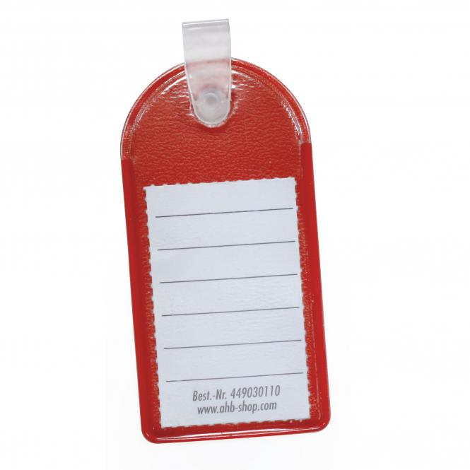 "Key Tag ""Stabilo"", red, 100 piece 