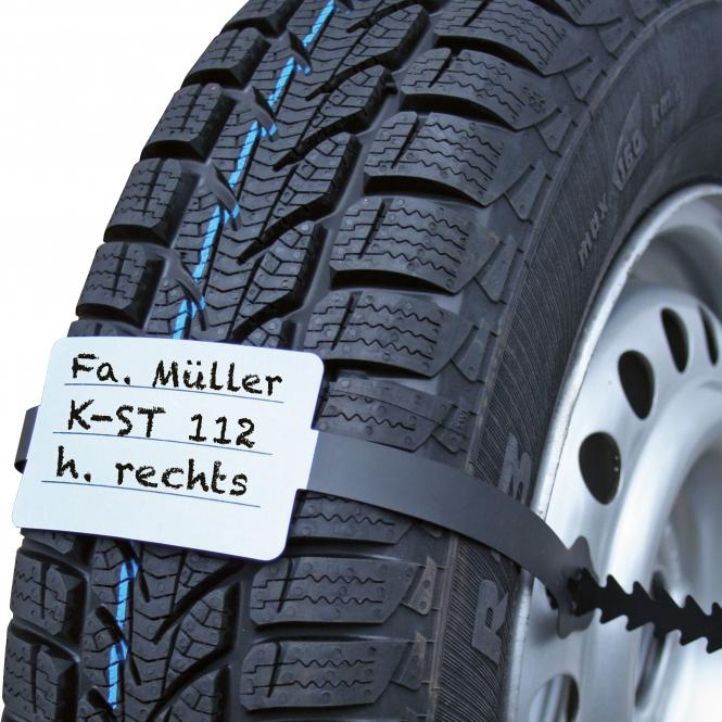 PVC-Reifenband, 100 Stück