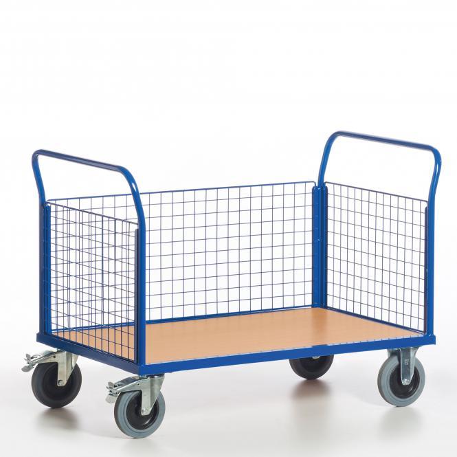 Grid Three Wall Trolleys