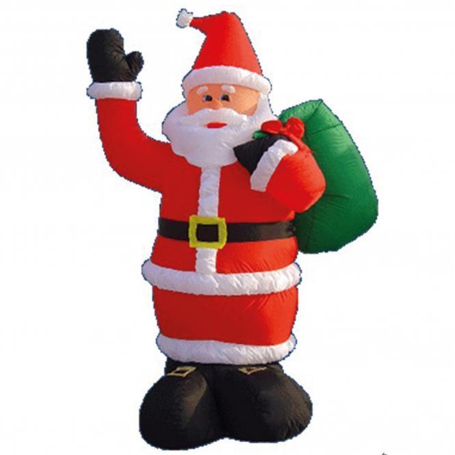 Weihnachtsmann, 180 cm, 230 V Gebläse