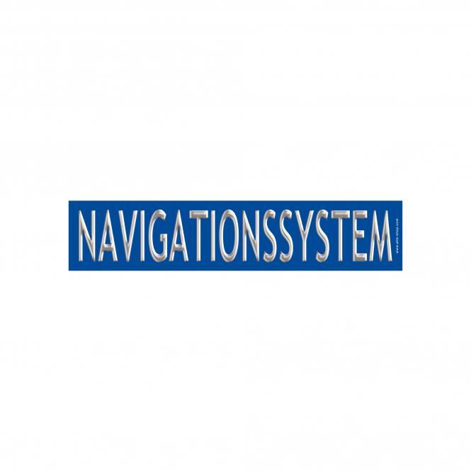 "Slogan Sticker ""DIAMOND"" blue/silver, 10 piece | Navigationssystem"