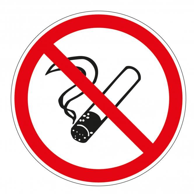 PVC Non-smoking Sticker