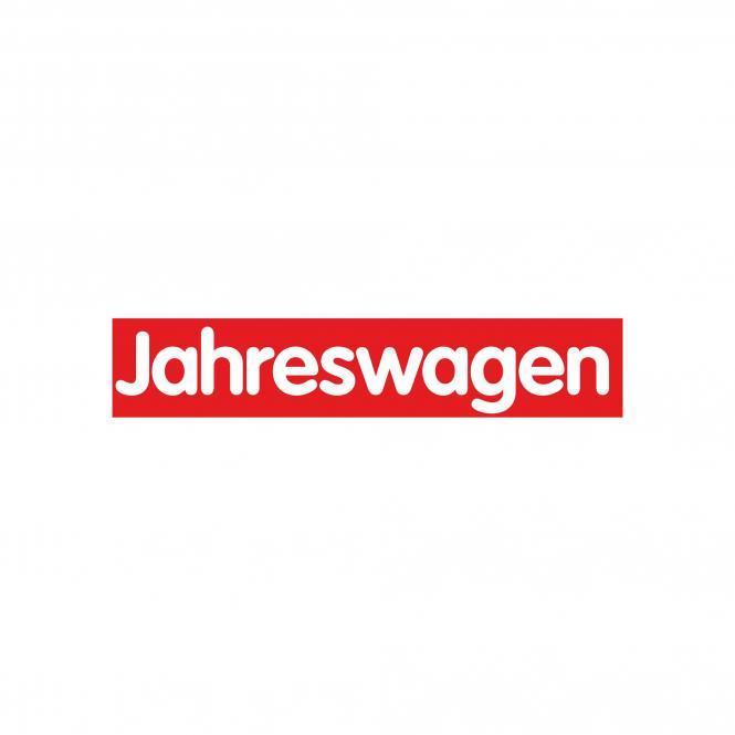 Slogan Stickers red / white, 10 piece | Jahreswagen
